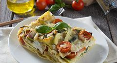 Lasagne di verdure e Pecorino
