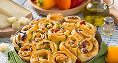Torta di rose salata con Pecorino