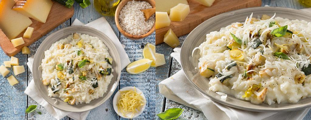 Risotto Zucchine e Limone